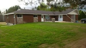 Brick Bungalow just outside Englehart - Price just reduced