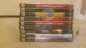 PlayStation 2 games.