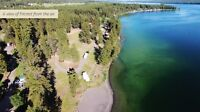 Rv lot Fircrest BC lakefront LAKEVIEW from $49,900