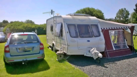 Bailey Ranger 460L (2 Berth) with mover, 2 awnings and service history