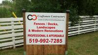 Craftsmen Contractors - Professional & Affordable