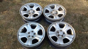 Oem subaru steel wheels