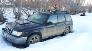 99 forester new tranny (motor blown)
