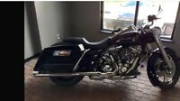 2009 Harley RoadKing  customized front to back TRADE FOR ?