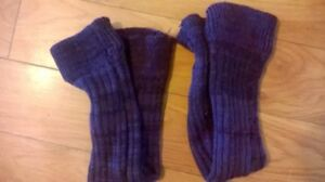 Purple Leg Warmers