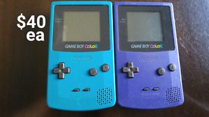 Game Boy / GBC / GBA Systems, Games, and Accessories