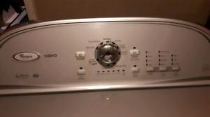Cabrio washing machine