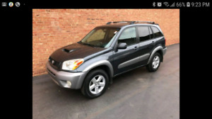 LOOKING for a small 4 clyl SUV