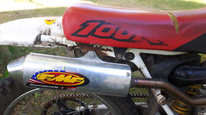 1999 HONDA XR100R good shape