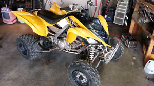 2006 Yamaha Raptor 700 trade for a Chevy or Dodge 4x4 truck !!