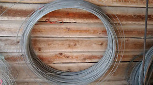Fencing wire - different types, high tensile, polywire