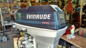 50 HP Evinrude outboard 1988