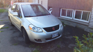 Suzuki sx4 sedan 6 speed manual