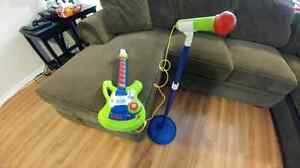 Guitare et micro - Guitar and mic