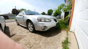 2005 Pontiac Grand Prix as is $1000 o. b. o.