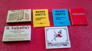 Matchbook Covers & Boxes of Matches-San Francisco, California