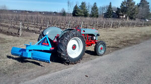 ** Ford 8N Tractor w 72 inch blade, maintained works great
