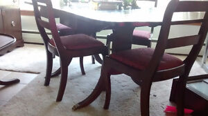 ANTIQUE FRENCH PROVINCIAL DINING ROOM SET - SUSSEX