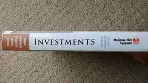 Investments Textbook - 7th Edition - McGraw-Hill Ryerson Gatineau Ottawa / Gatineau Area image 2