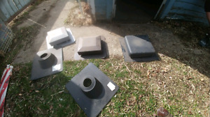 Assorted roof vents $5 each
