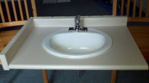 Bathroom Sink And Faucet Selling Individually or as Set
