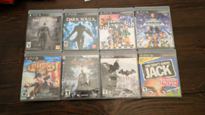 5$+ Games. PS3, Wii, Wii U, DS, GC