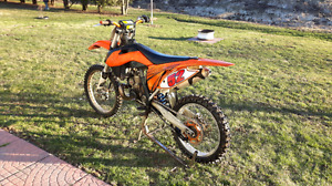2013 ktm sx 250. Trade for 150 or 125
