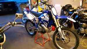 YZ250 ( WITH PARTS BIKE)  in whitecourt