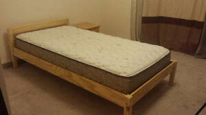 bed/mattress/nigt table