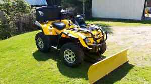 2008 mint condition Can am 500 XT EFI
