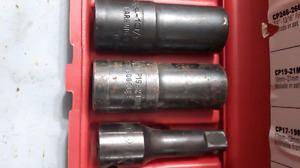 Matco Tools 3 Piece Flip Socket Set