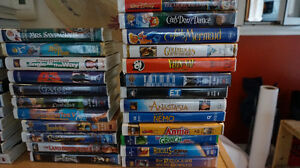 Rare VHS MOVIES~ Family Movies & Collectables !! $1 UP