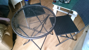 3 Peice Patio Set (New)