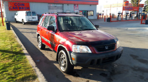 CRV HONDA 4X4 RED