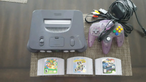 Nintendo 64 with Mario and More