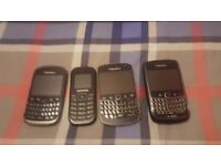 Blackberry phones mint condition very cheap