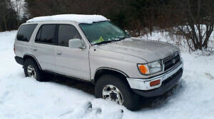 96 toyota 4runner 4x4 5 speed