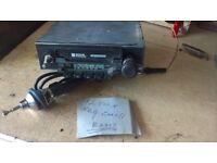 Retro Car Radio Cassette, with Ariel