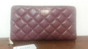 GUESS WALLET - DARK RED - BRAND NEW