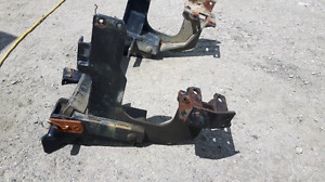 Western plow mount Ford