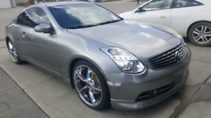 2006 Infiniti g35 coupe with very low kilometers