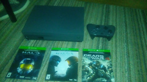 Xbox one for sale 500gig for sale one night only.