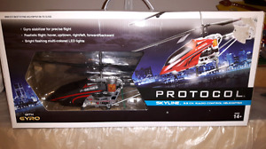 Remote control helicopter.  $15