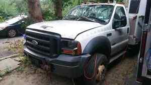 2006 Ford F550 4x4 diesel Bucket Truck with 43 foot reach