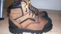 "Mens safety shoes size 9 ½ - DAKOTA Z FLEX 6"" CTCP WORKBOOT"