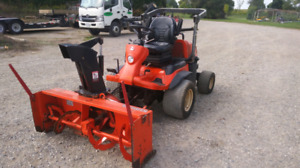 Kubota F3680 with snowblower