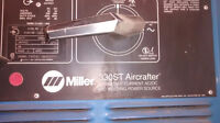 Miller 330ST Aircrafter TIG Welder with Water Cooler