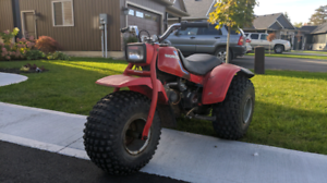 1983 Honda 110 ATC with ownership