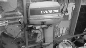 FOR SALE 30 HP EVINRUDE  OUT BOARD MOTOR