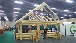 Log cabin  for sale write now at expo centre